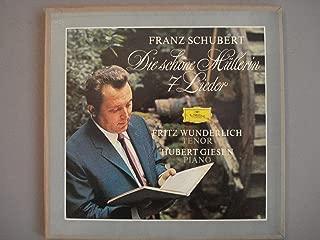 Franz Schubert, Die schone Mullerin, Fritz Wunderlich, Tenor, Hubert Giesen, Piano
