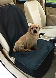 NAC&ZAC Deluxe Waterproof Bucket Pet Seat Cover for Cars and SUV with Seat Anchors, Quilted, Nonslip, Entire Seat Protection, Machine Washable Dog Seat Cover