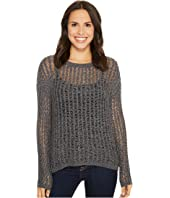 Tribal - Long Sleeve Novelty Tweed Yarn Sweater
