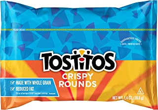 Tostitos Top N Go Bite Size Tortilla Chips, 1.4 Ounce (Pack of 21)