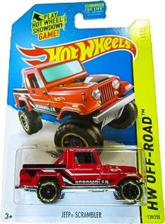 Hot Wheels - 2014 HW Off-Road 138/250 - HW Hot Trucks - Jeep Scrambler (red)