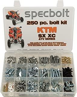 250pc Specbolt Bolt Kit for Maintenance & Restoration fits: KTM SX XC ATV 450 505 525 OE Spec Fasteners Quad