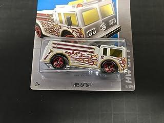 FIRE-EATER Fire Truck Treasure Hunt 2013 Hot Wheels 19/250 HW CITY