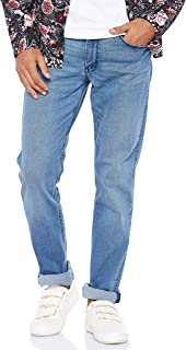 Levi's Men's 511 Slim Fit denim jeans in Blue (Medium C44), Size: Size32