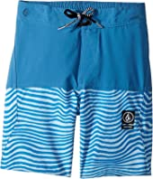 Volcom Kids - Vibes Half Stoney Boardshort (Little Kids/Big Kids)