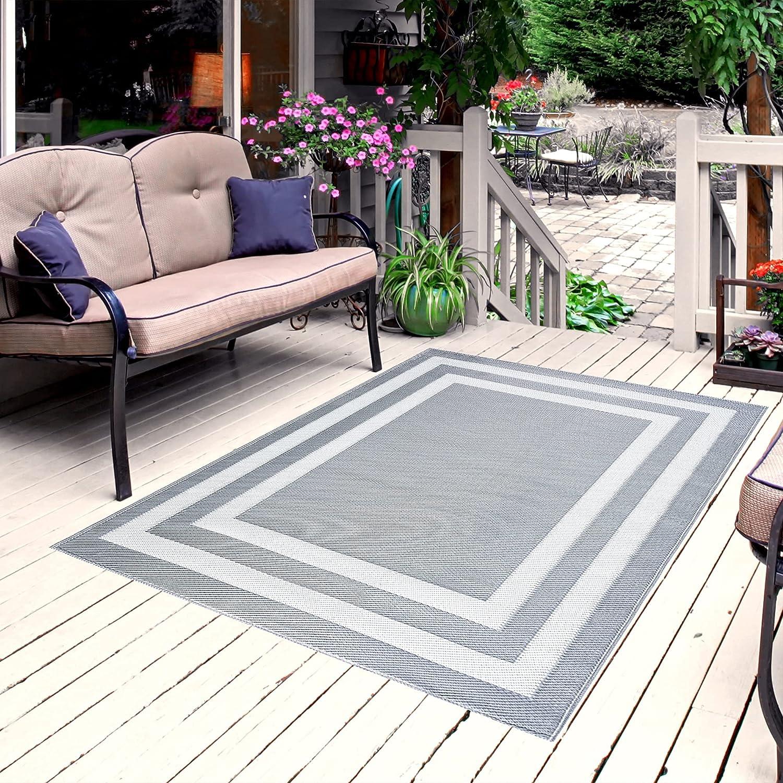 Playa Popular product Rug Reversible Indoor Outdoor Floor Limited price 100% Plastic Recycled