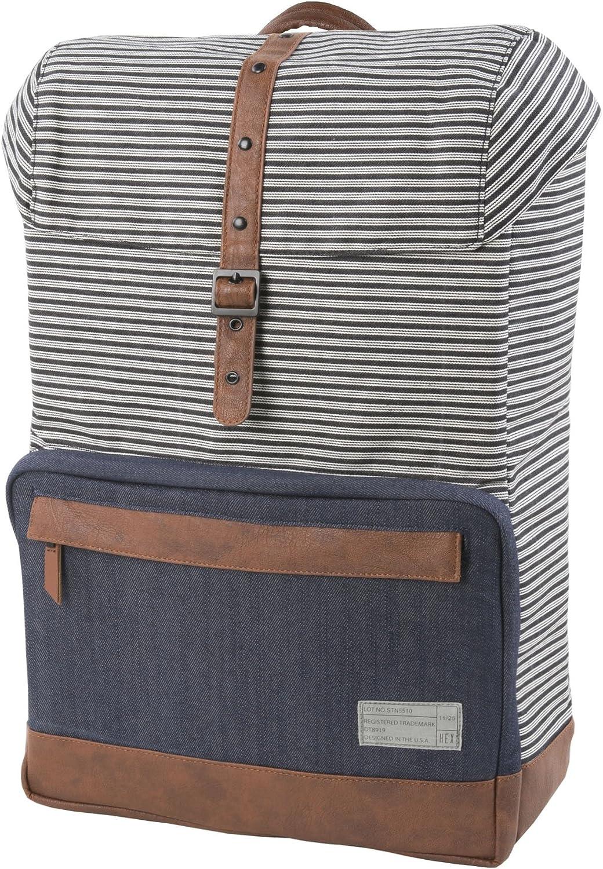 HEX Coast Backpack  Stinson  (Stripe Denim  HX1841STDN)