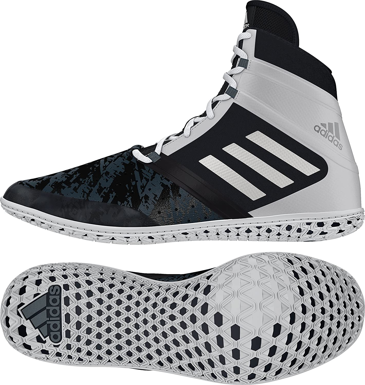 Adidas Impact Wrestling skor skor skor - svart  silver  vit - 9  stora rabattpriser