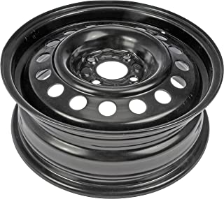 Dorman Black Wheel with Painted Finish (15 x 5.5 inches /4 x 3 inches, 45 mm Offset)