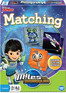 Miles from Tomorrowland Matching Game