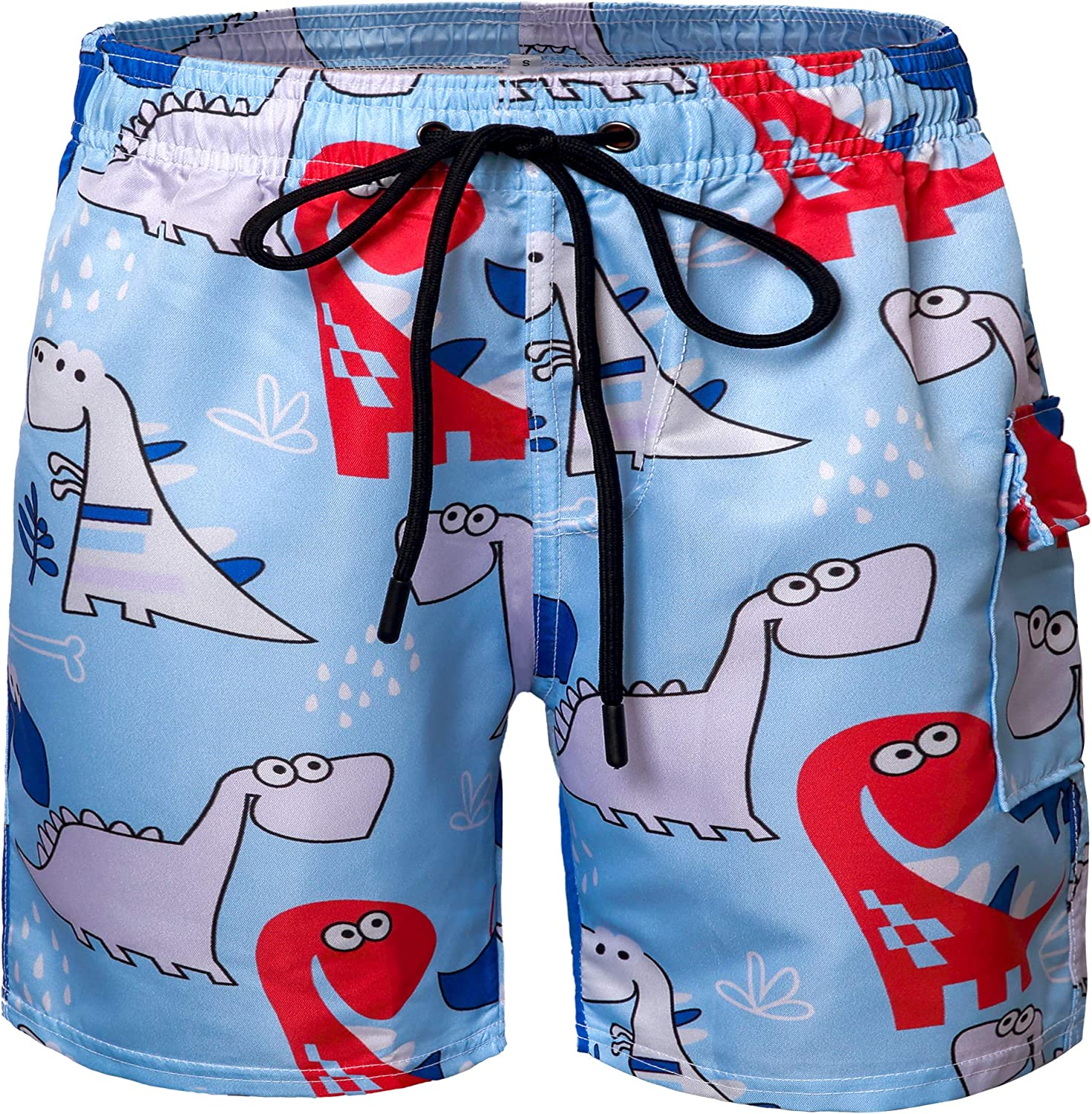 Boys Swim Trunks Funny 3D National uniform Special price for a limited time free shipping Shorts Kids Board Novelty Beach