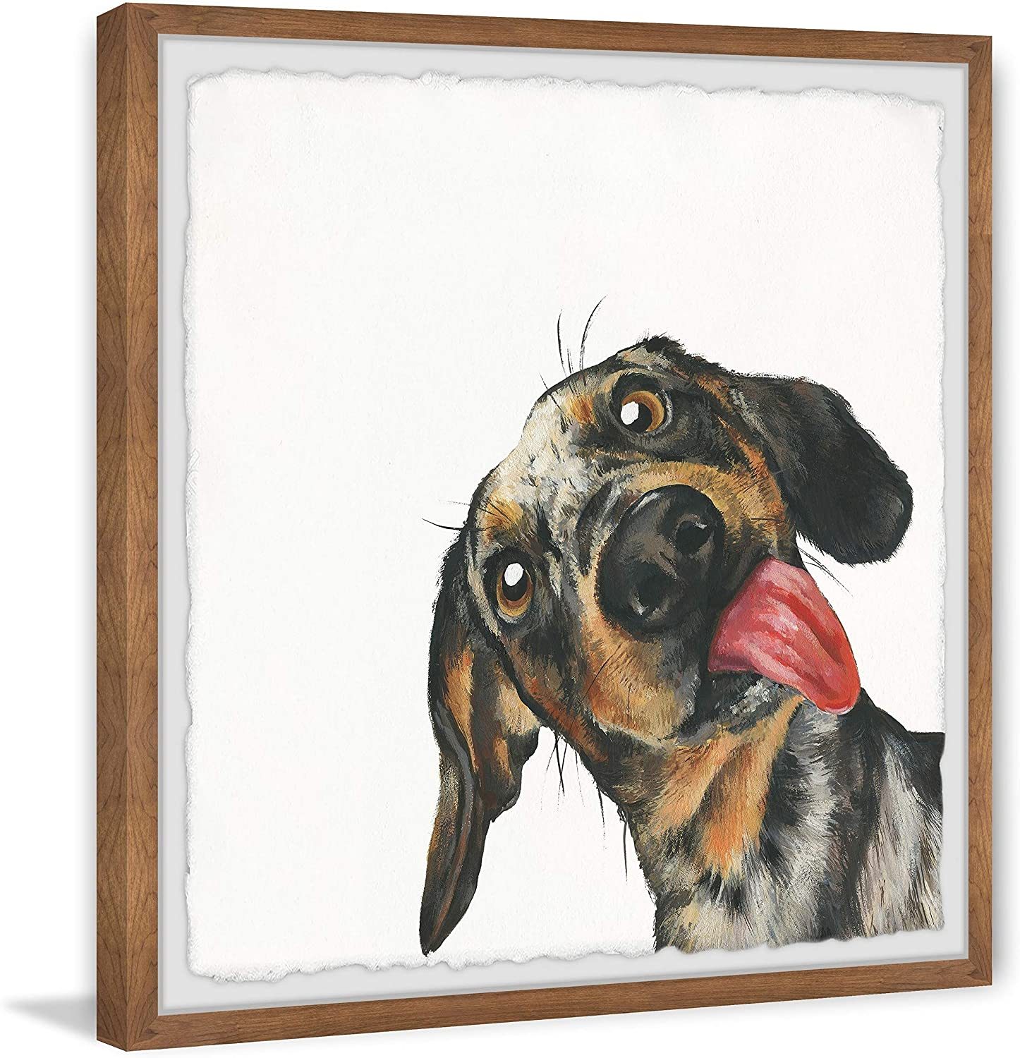 Marmont Animer and price revision Hill - Handmade Hilarious Framed x 32 Print Overseas parallel import regular item Dog