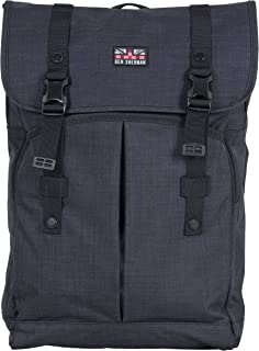 Heathered Polyester Dual Compartment Flapover 15