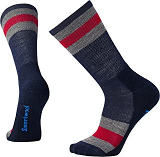 Hombre Striped Hike Light Crew Socks