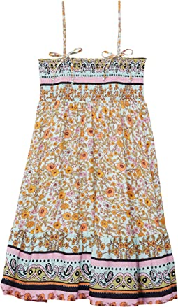 La Isla Bonita Pastel Convertible Short Dress Cover-Up (Little Kids/Big Kids)