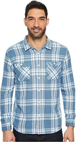 Moon Tides Long Sleeve Flannel Shirt
