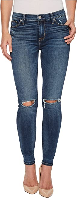Nico Mid-Rise Ankle Super Skinny Jeans in Confession
