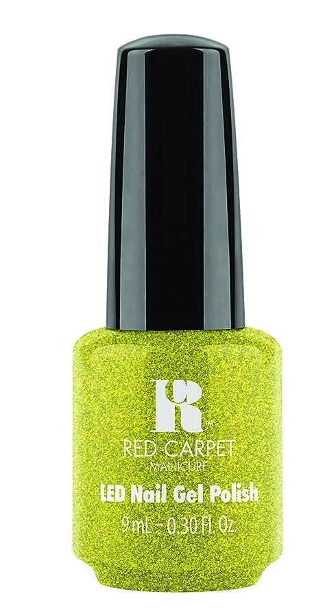 拒否先入観消費者Red Carpet Manicure - LED Nail Gel Polish - Power of the Gemstones - Peridot - 0.3oz/9ml