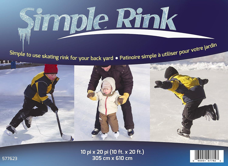 Simple Rink 10 X 20 Backyard Skating Rink Amazon Ca Patio Lawn Garden Backyard rink kit canada amazon