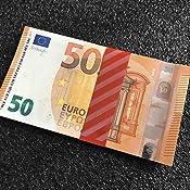 Monetique BRADEU050 Paquet de 250 Bracelets pour billets 50 euro