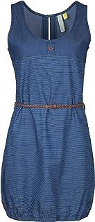 NEU XL  bis XL dunkel Blau 249 Alife and Kickin Kleid mit Spitze Gr