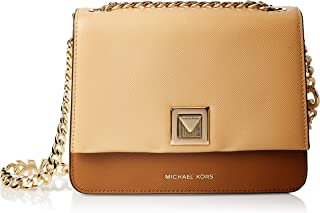 Michael Kors Crossbody for Women- Brown/Vanilla