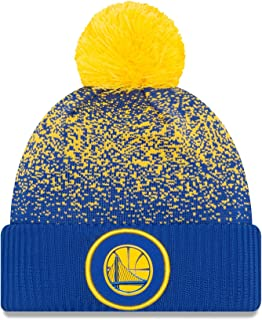 new arrival e7f20 14c0f New Era On-Court Pom Knit Beanie Hat   Cap NBA 2017