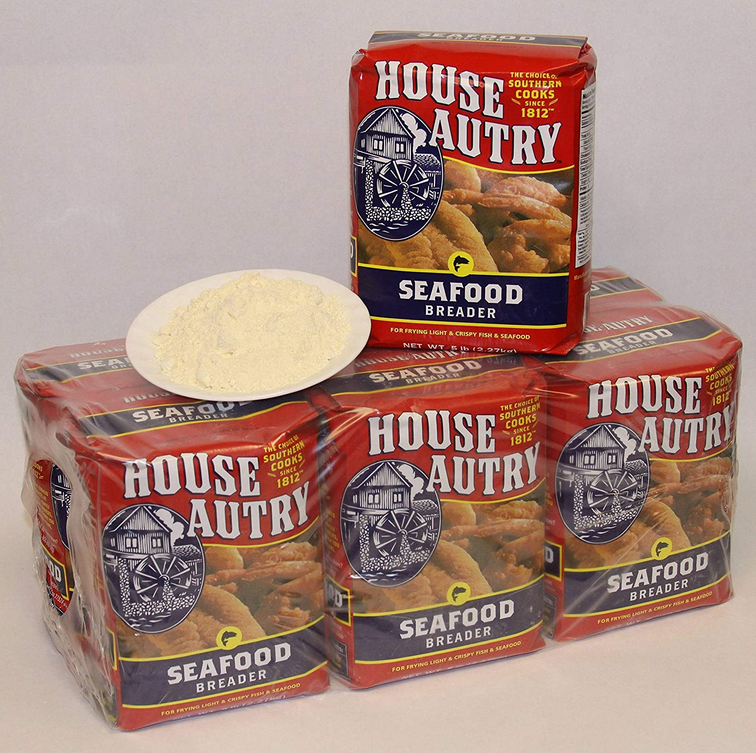House Autry Max Finally popular brand 42% OFF Seafood Breader 5 pound per -- 6 case