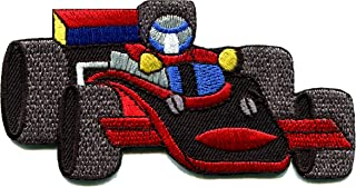 Sports car Racing Race Exotic Formula one 1 Retro Embroidered Applique Iron-on Patch New