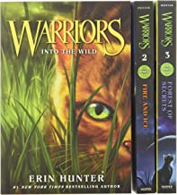 Warriors Box Set: Volumes 1 to 3: Into the Wild, Fire and Ice, Forest of Secrets (Warriors: The Prophecies Begin)