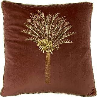 furn. Desert Palm Polyester Filled Cushion, Rock Rose, 50 x 50cm