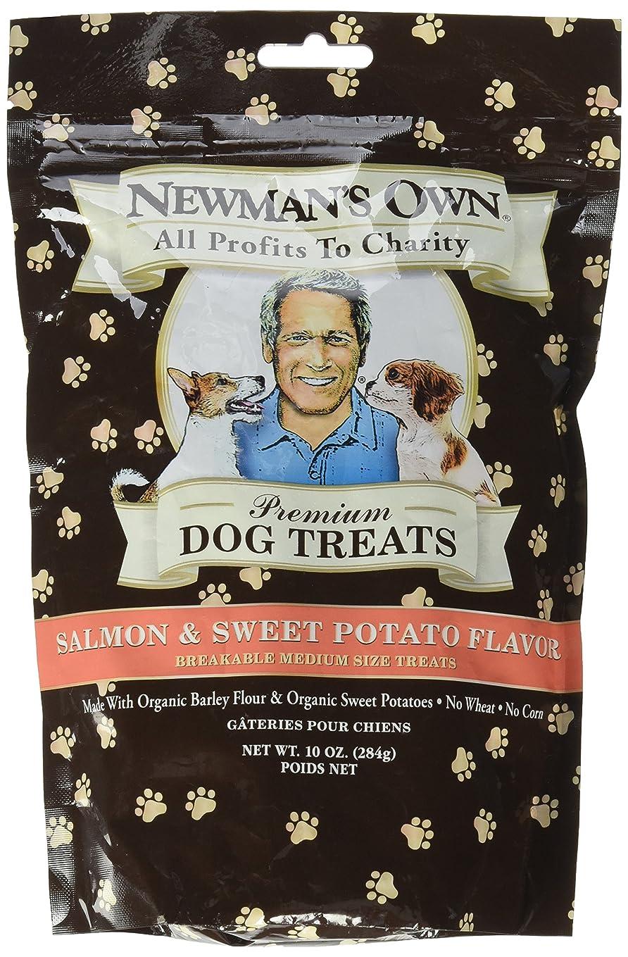 発明する気球発生海外直送品Newman's Own Organics Organics Dog Treats, Salmon and Sweet Potato 10 OZ(case of 6)