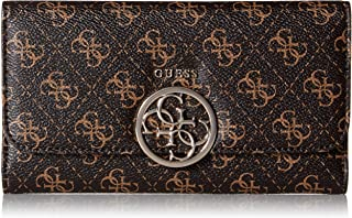 GUESS womens Kamryn Q-logo Multi Clutch Wallet