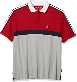 Men's Big and Tall Navtech Short Sleeve Colorblock Polo...