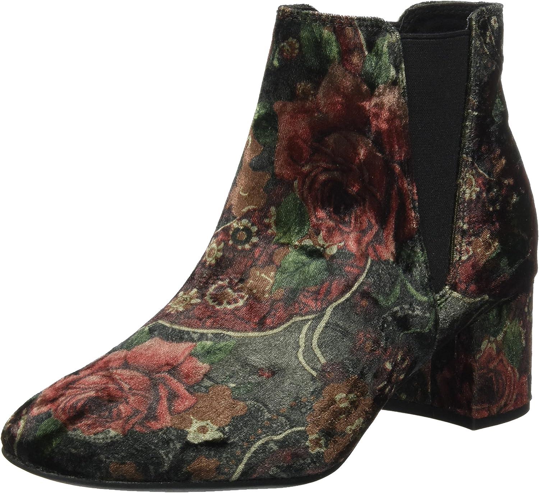 Marco Tozzi Velvet Bootie Womens Boots