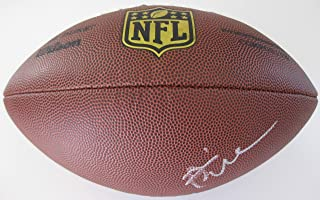 Brian Urlacher Chicago Bears, Signed, Autographed, NFL Duke Football, a COA with the Proof Photo of Brian Signing the Football Will Be Included
