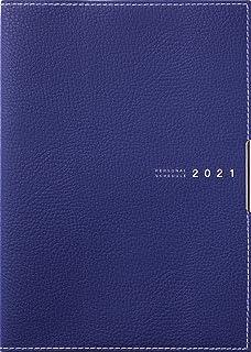 高橋 手帳 2021年 A5 マンスリー ディアクレール ラプロ 1 紺 No.501 (2020年 12月始まり)