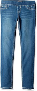 VIGOSS Girls' 5 Pocket Classic Pull on Skinny Jean