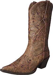 حذاء حريمي غربي لامع من Roper