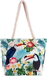 Tote Bag - Toucan - Blue