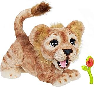 Hasbro Disney 狮子王 Mighty Roar Simba 互动毛绒玩具,Furreal 出品,100+ 声音和动作组合,适合 4 岁及以上儿童