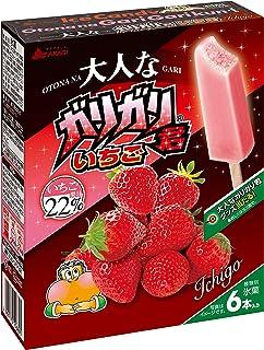 [冷凍] 赤城乳業 大人なガリガリ君いちご 56ml×6