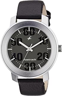 Fastrack Casual Analog Grey Dial Men's Watch -NK3121SL02