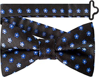 Forget Me Not Bow Tie by Masonic Revival (Pre-Tied Black)