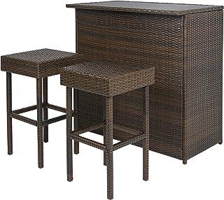 Bar Height Patio Furniture Sets Amazon Com