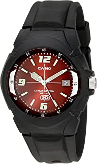Men's MW600F-4AV Black Sport Watch