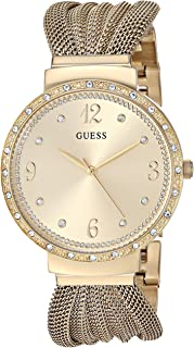 GUESS Women's Quartz Stainless Steel Casual Watch