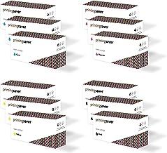12x Tóners compatibles para DELL 2150cn, 2150cdn, 2155cn, 2155cdn impresoras