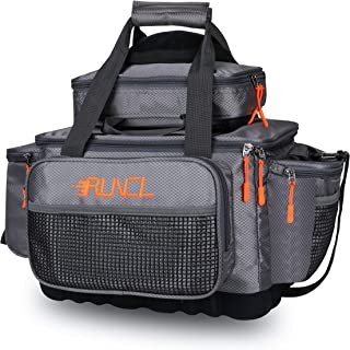 RUNCL Fishing Tackle Storage Bag, Fly Fishing Sling Pack,...