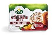 Arla, Mediterranean Garden Cream Cheese, 7 oz tub